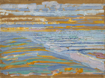 View from the Dunes with Beach Piet Mondrian